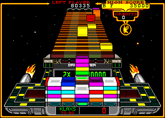 Klax screen shot